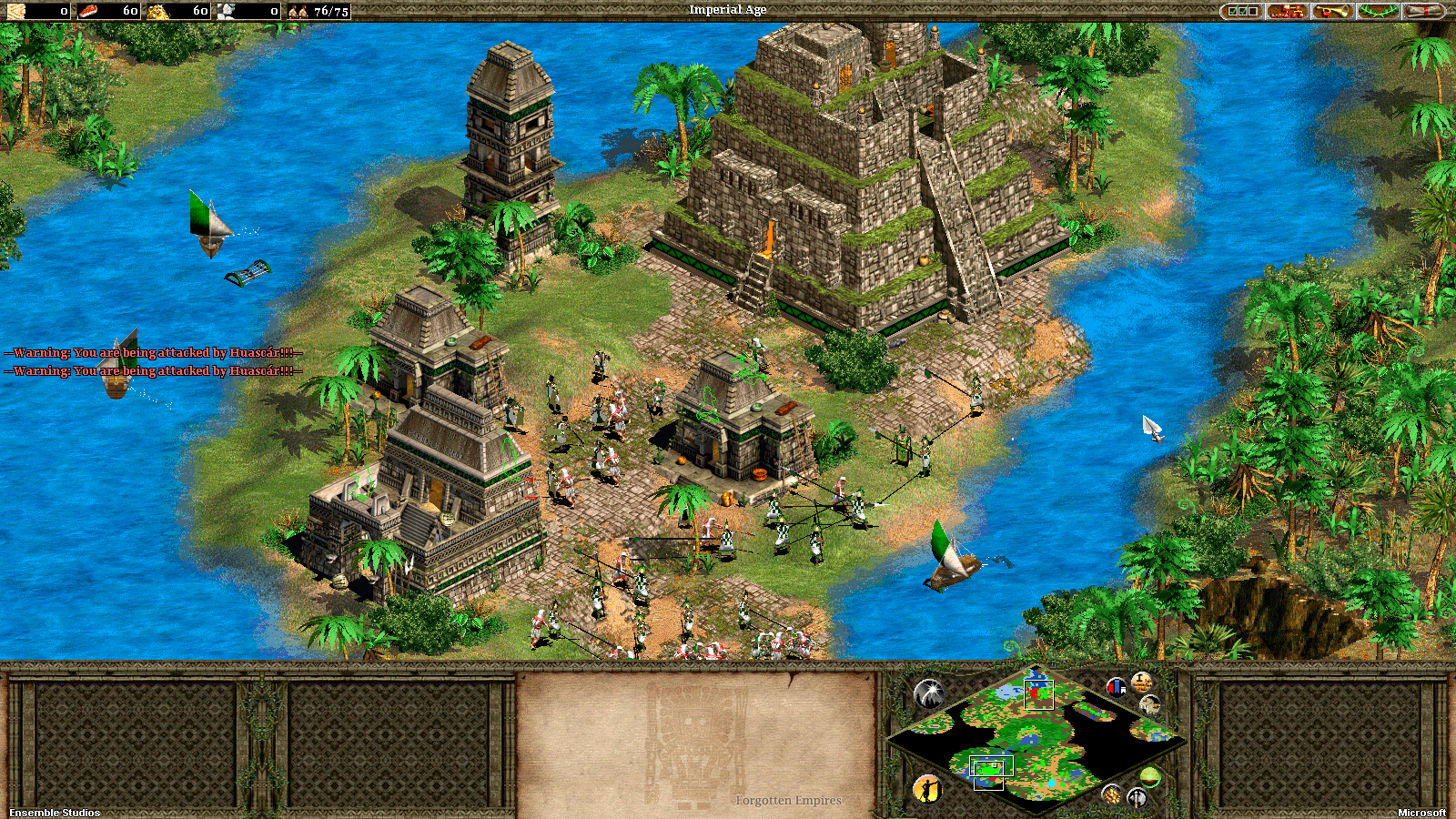 Age Of Empires The Forgotten Empires :Incas