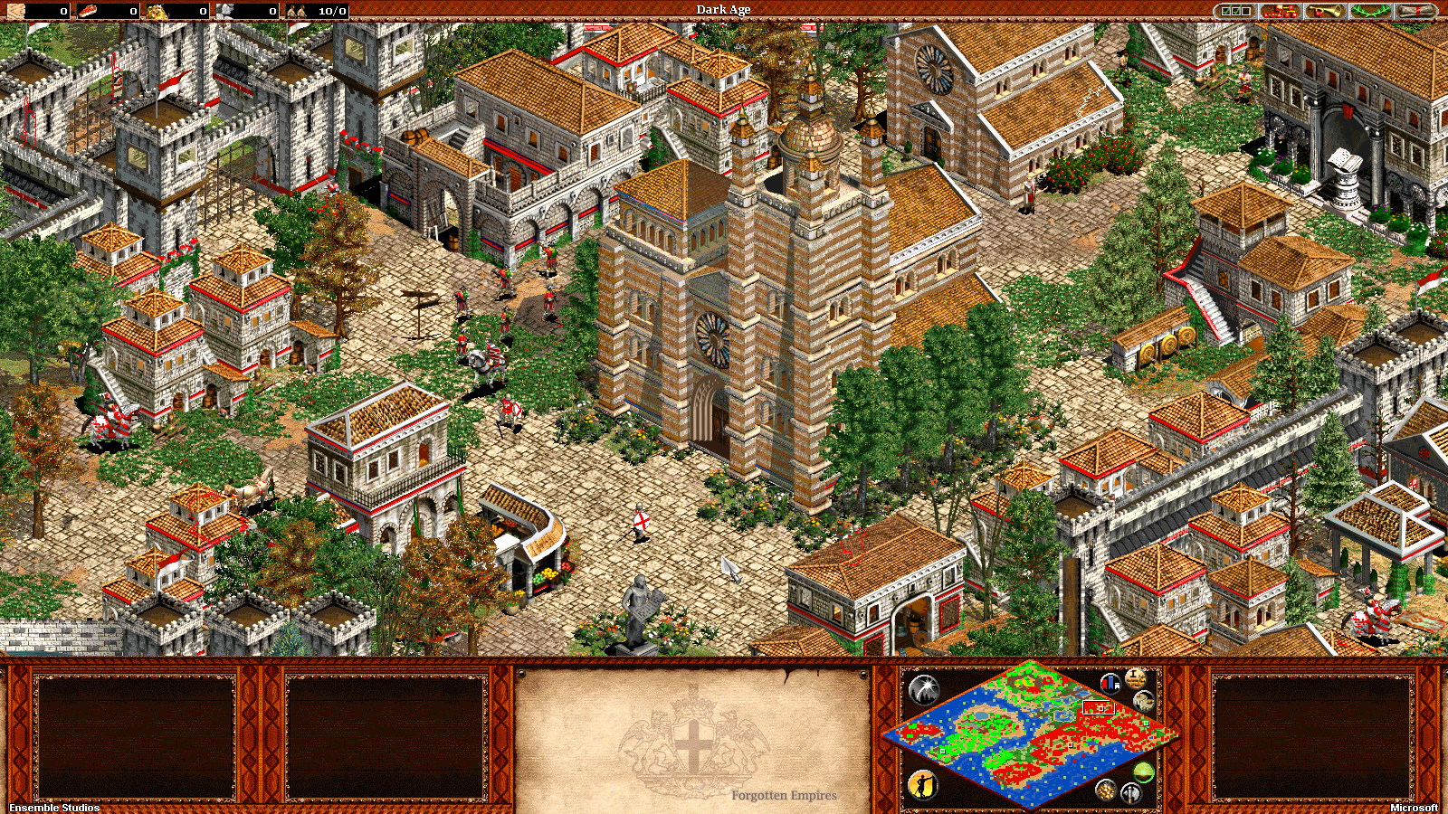 Age Of Empires The Forgotten Empires :Italians