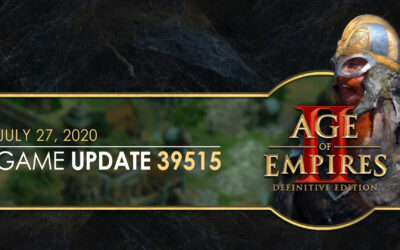 Age of Empires II: Definitive Edition — Update 39284 + Hotfix