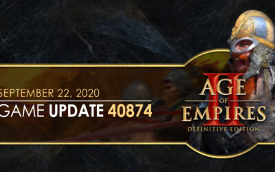 Age of Empires II: Definitive Edition — Update 40874