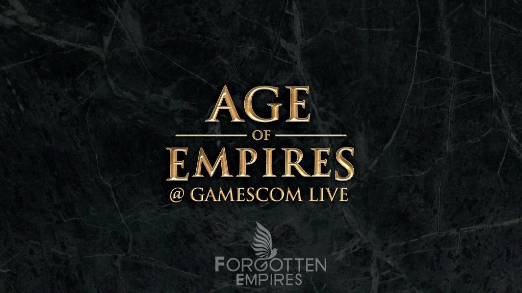 Forgotten Empires @ gamescom 2017!