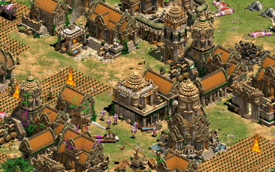 Aoe2: Comparing the different Battle Elephants