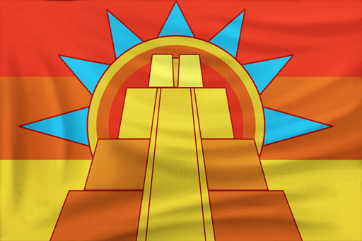 Flag of Aztecs in Age of Empires III: Definitive Edition