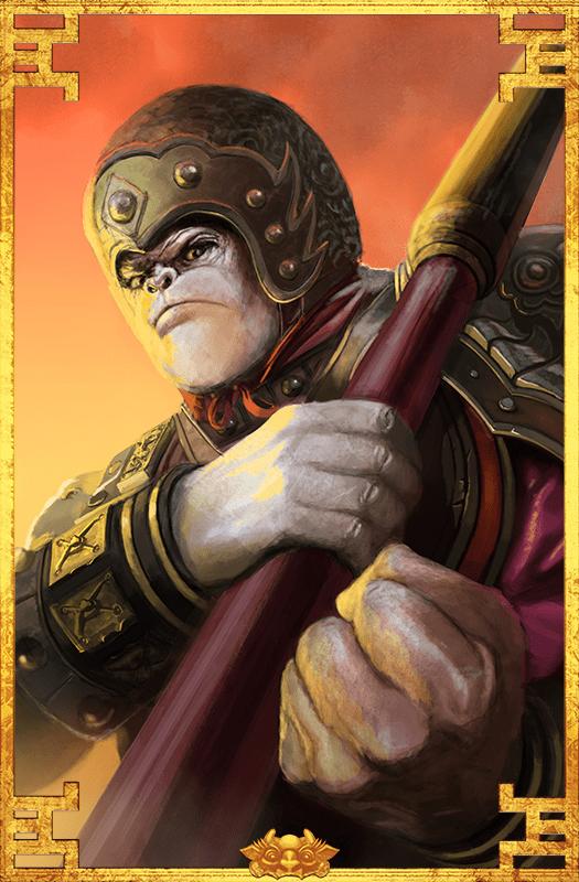 Sun Wukong Portrait