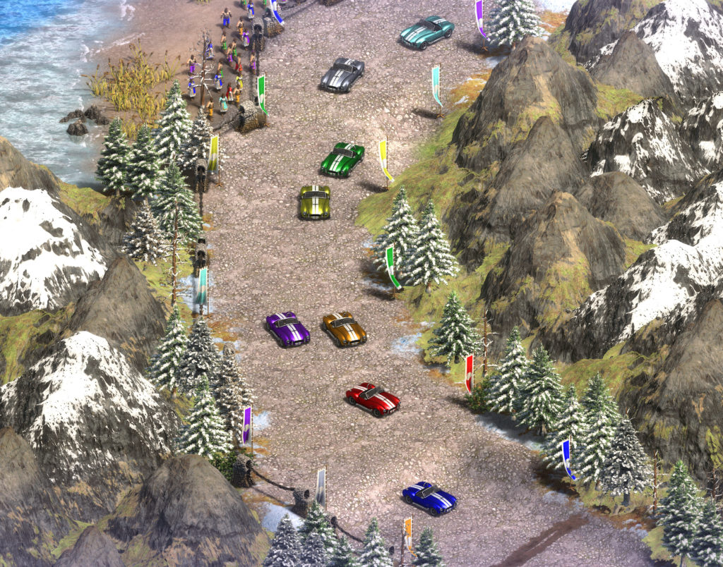 Cobra Cars in Age of Empires II