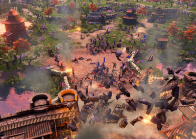Age of Empires III Definitive Edition - Breaching the Gates in Japan