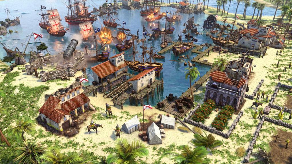 Age of Empires III DE: Caribbean Base