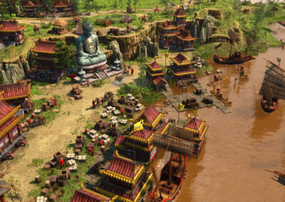 Age of Empires III Definitive Edition - Chinese Fishing Village
