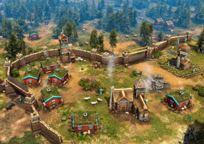 Age of Empires III Definitive Edition - Swedish Settlement