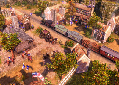 Age of Empires III Definitive Edition - Wild West Railroad
