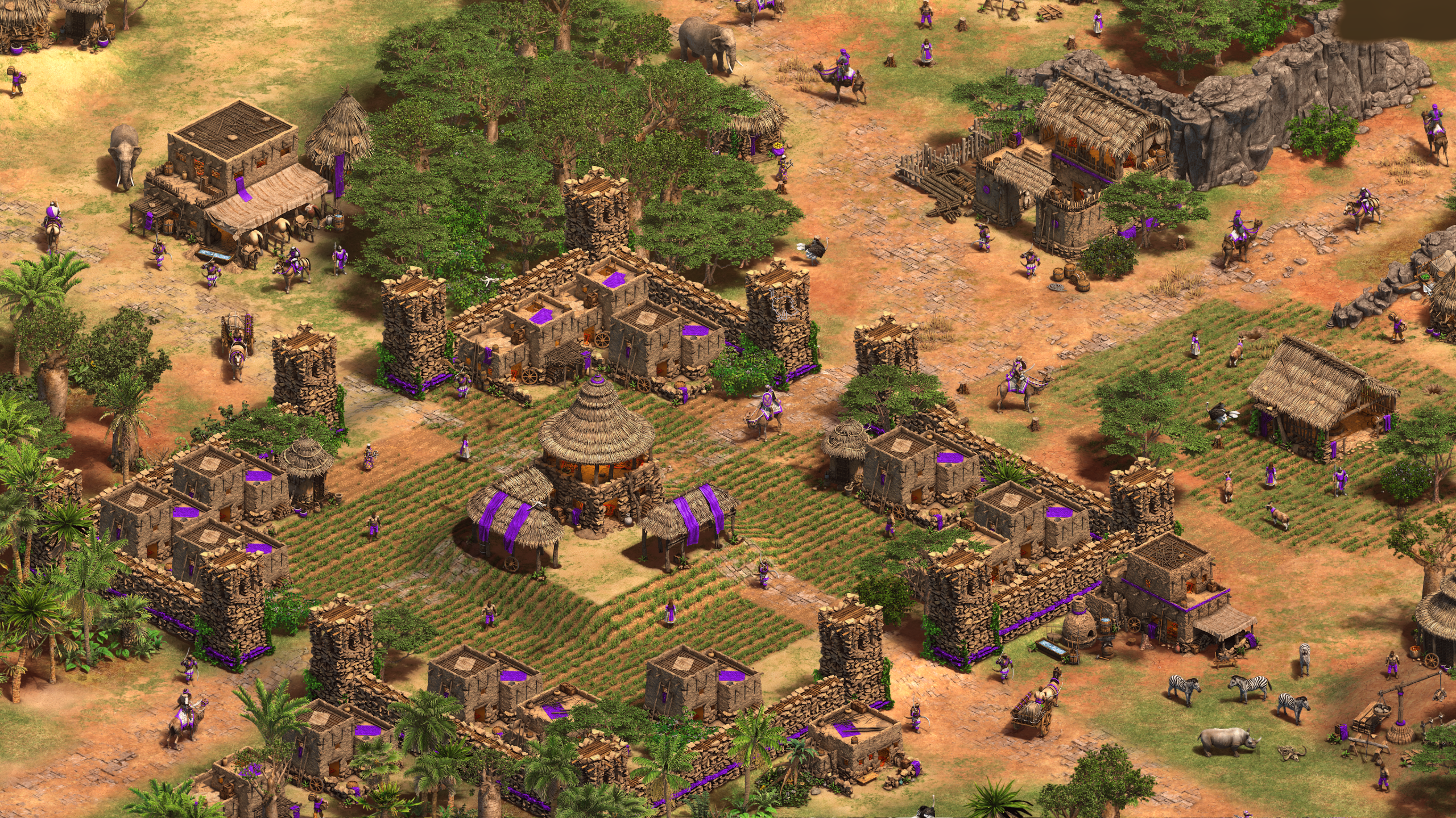 Malians in Age of Empires II: Definitive Edition