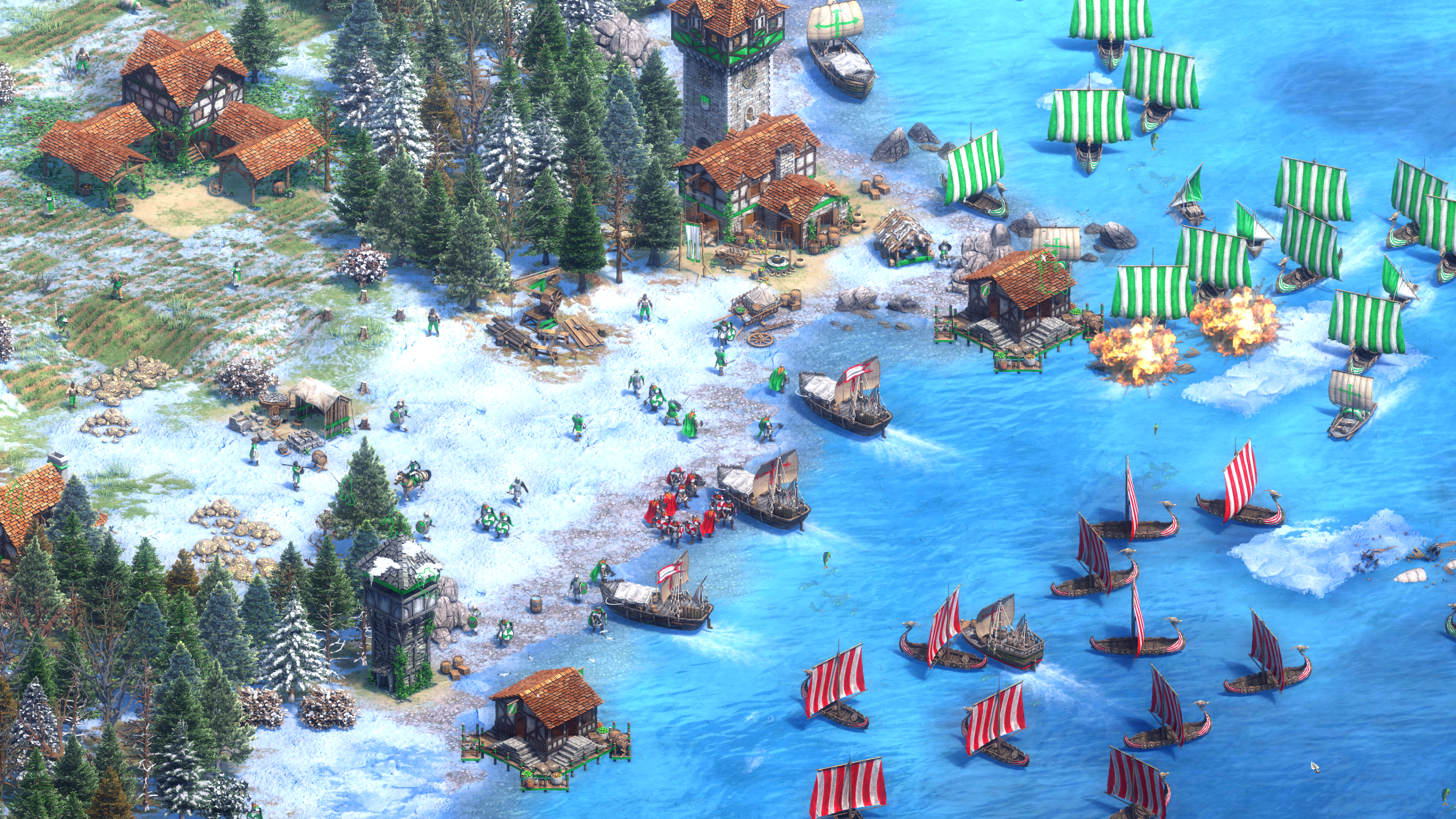 Vikings in Age of Empires II: Definitive Edition