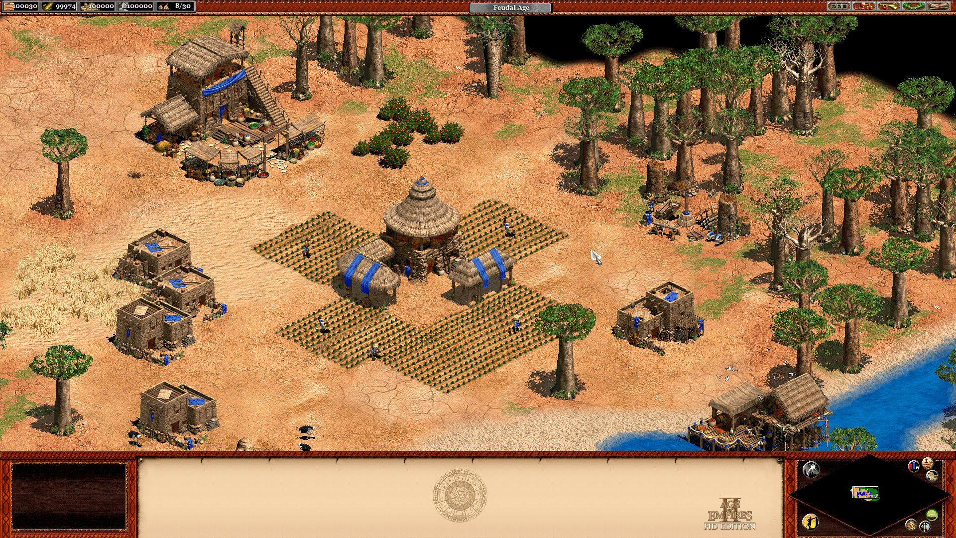 age_of_empires_2_hd_african_kingdoms_feudal_town