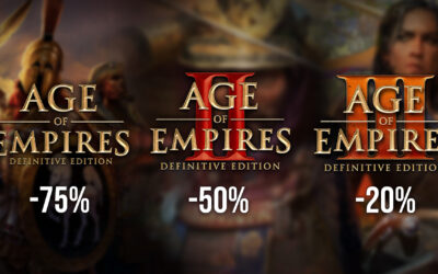 All Age of Empires: Definitive Editions on sale!