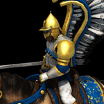 Winged Hussar Icon in Age of Empires II