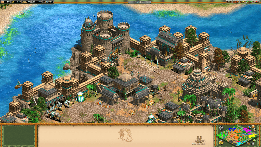 aoe2 the new indian architecture forgotten empires