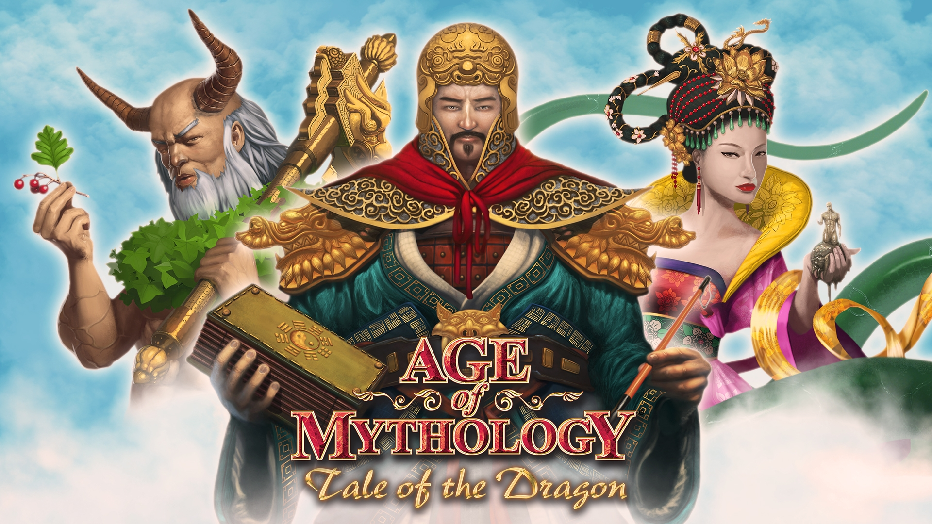 age of mythology tale of the dragon announcement forgotten empires