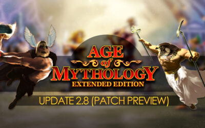Age of Mythology — Update 2.8 Patch Preview