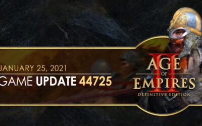 Age of Empires II: Definitive Edition — Update 44725