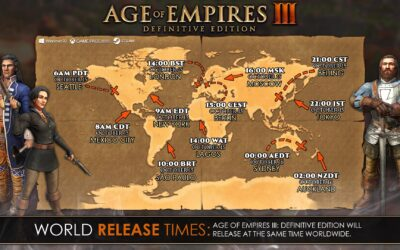Age of Empires III: Definitive Edition – Pre-load available now!
